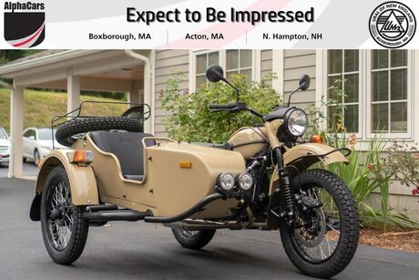 2019 Ural Gear Up Sahara Boxborough MA