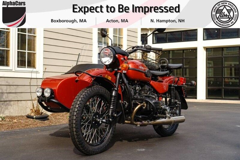 2019 Ural Gear Up Terracotta Boxborough MA