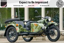 2019 Ural Gear Up Woodland Camouflage Custom