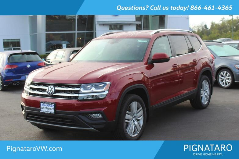 2019 VOLKSWAGEN Atlas V6 SE W/TECH 4Motion Everett WA