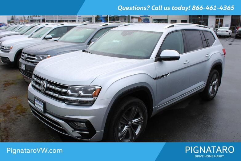2019 VOLKSWAGEN Atlas V6 SE W/TECH R-LINE 4Motion Everett WA