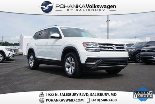 2019_Volkswagen_Atlas_2.0T S ** VW CERTIFIED ** 7 YEAR / 84K WARRANTY **_ Salisbury MD
