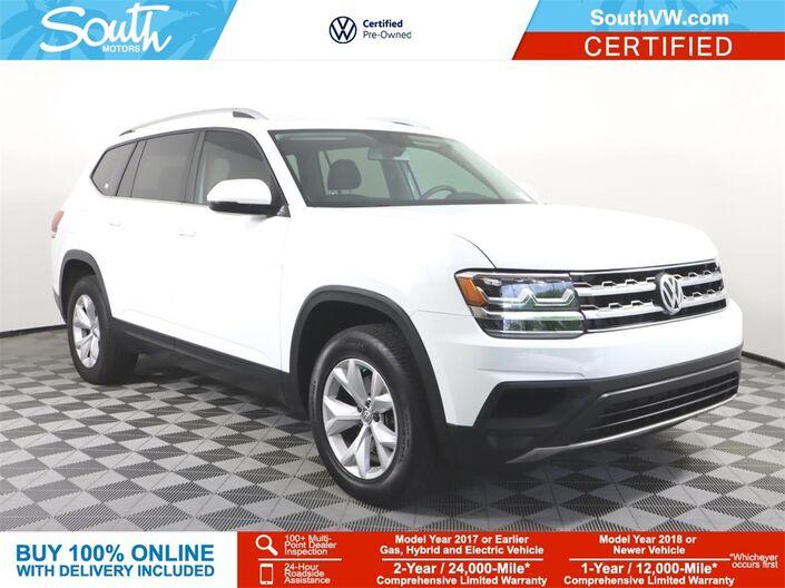 2019 Volkswagen Atlas 2.0T S Miami FL