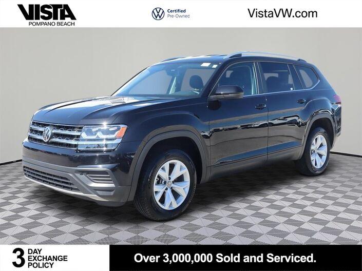 2019 Volkswagen Atlas 2.0T S Pompano Beach FL