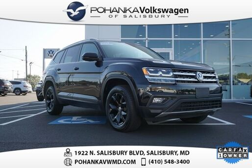 2019_Volkswagen_Atlas_3.6L V6 SE 4Motion ** 0% FINANCING AVAILABLE **_ Salisbury MD