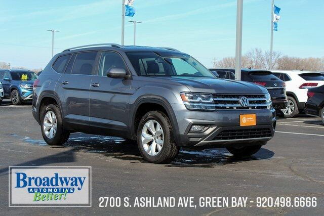 2019 Volkswagen Atlas 3.6L V6 SE 4Motion Green Bay WI