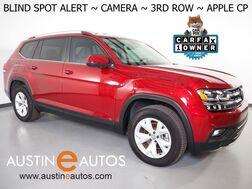 2019_Volkswagen_Atlas 3.6L V6 SE_*BLIND SPOT ALERT, BACKUP-CAMERA, TOUCH SCREEN, 3RD ROW SEATING, HEATED SEATS, ALLOY WHEELS, BLUETOOTH PHONE & AUDIO, APPLE CARPLAY_ Round Rock TX