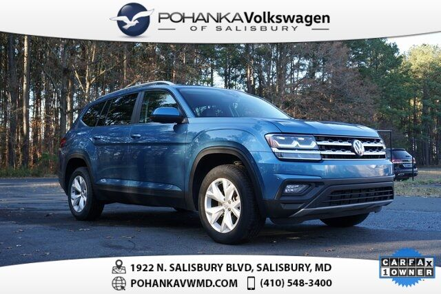 2019 Volkswagen Atlas 3.6L V6 SE w/ Technology ** 7 YEAR / 84K MILE WARRANTY ** Salisbury MD