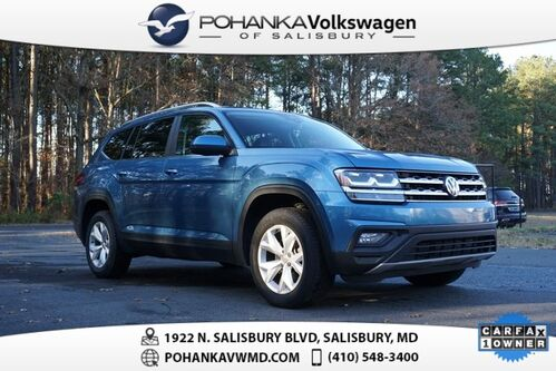 2019_Volkswagen_Atlas_3.6L V6 SE w/ Technology ** 7 YEAR / 84K MILE WARRANTY **_ Salisbury MD