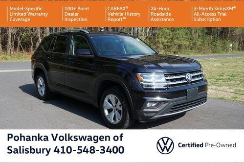 2019_Volkswagen_Atlas_3.6L V6 SE w/Technology ** VW CERTIFIED **_ Salisbury MD