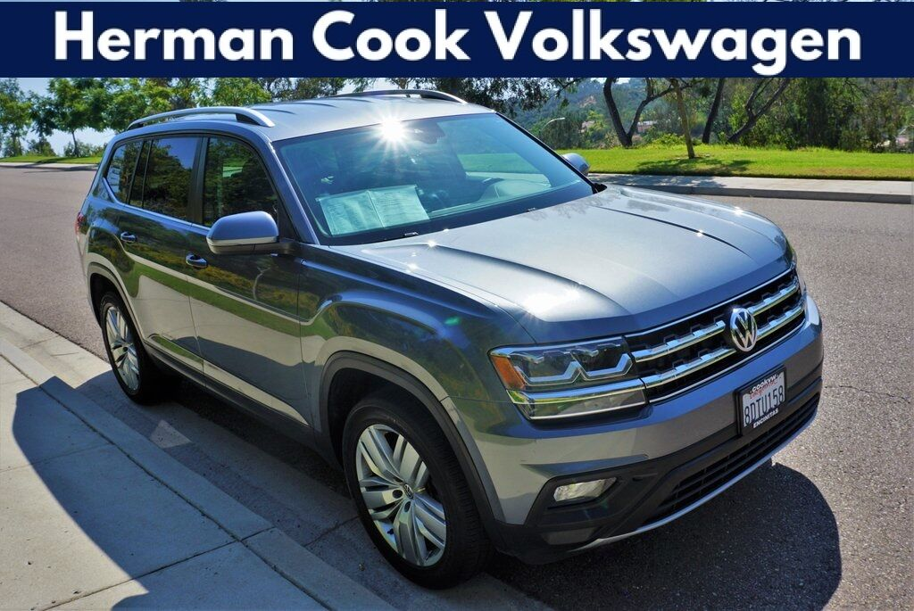 2019 Volkswagen Atlas 3.6L V6 SE w/Technology 4Motion Encinitas CA