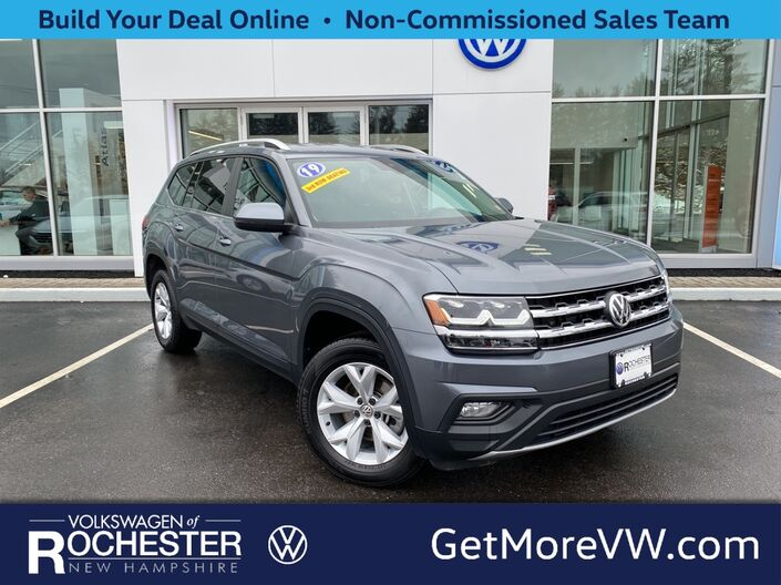 2019 Volkswagen Atlas 3.6L V6 SE w/Technology 4Motion Rochester NH