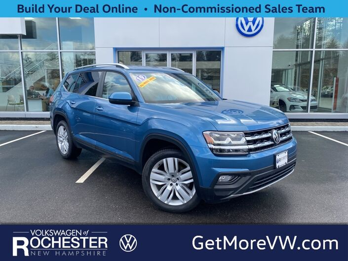 2019 Volkswagen Atlas 3.6L V6 SE w/Technology w/Technology Rochester NH
