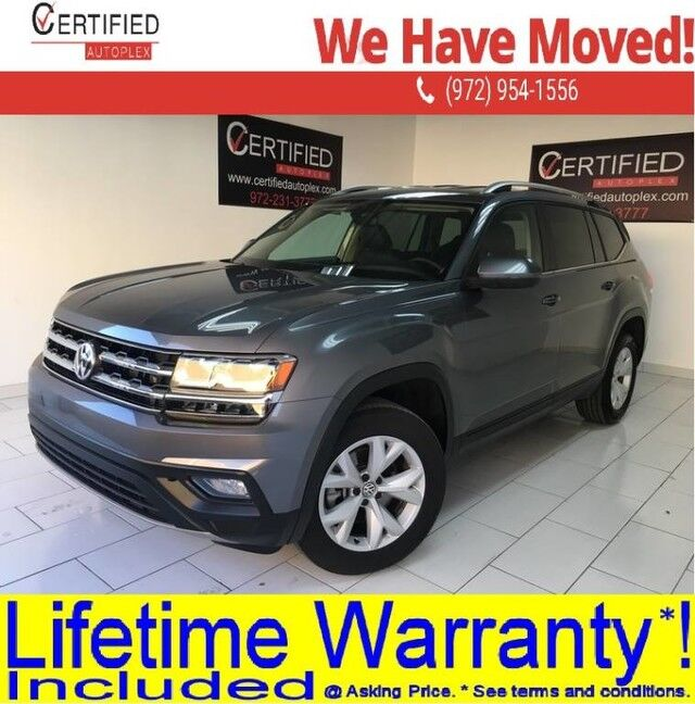 2019 Volkswagen Atlas SE TECHNOLOGY PKG 3.6L V6 BLIND SPOT ASSIST ADAPTIVE CRUISE CONTROL LANE AS Dallas TX