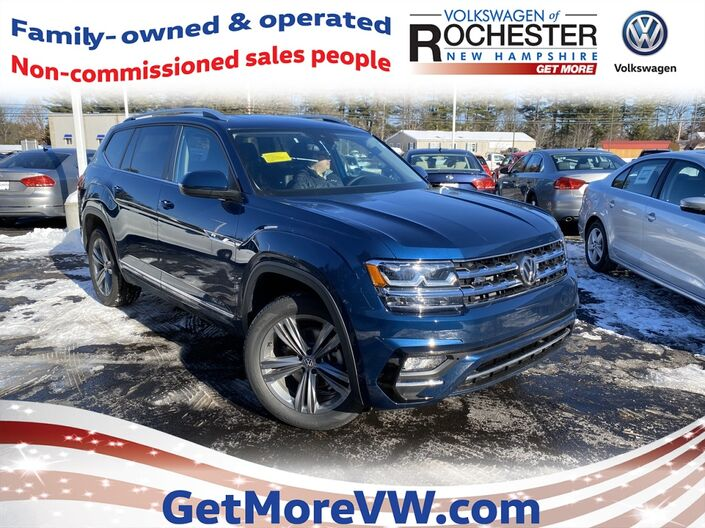 2019 Volkswagen Atlas SE w/Technology R-Line and 4Motion Rochester NH