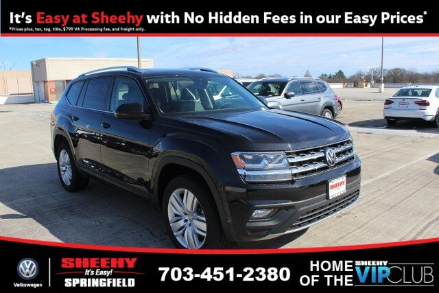 2019 Volkswagen Atlas SE w/Technology R-Line and 4Motion 4D Sport Utility