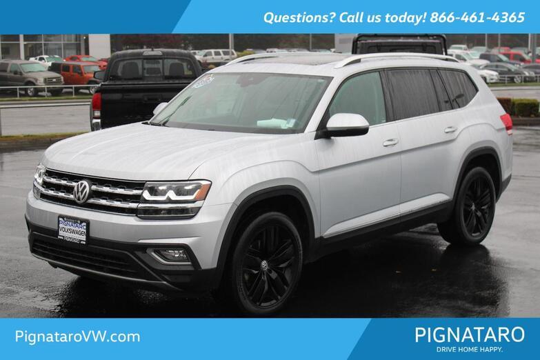 2019 Volkswagen Atlas SEL Everett WA