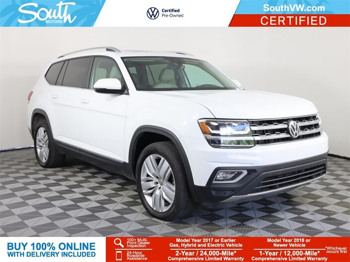 2019 Volkswagen Atlas SEL Miami FL