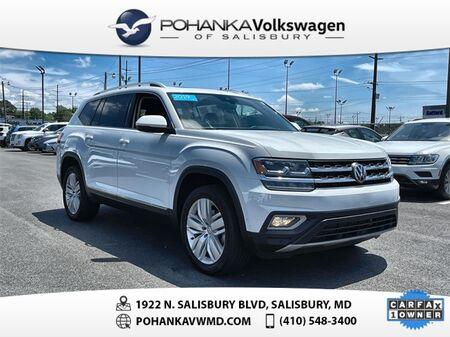 2019_Volkswagen_Atlas_SEL Premium ** CERTIFIED WARRANTY ** 4Motion_ Salisbury MD