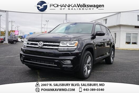2019_Volkswagen_Atlas_SEL R-Line and 4Motion_ Salisbury MD