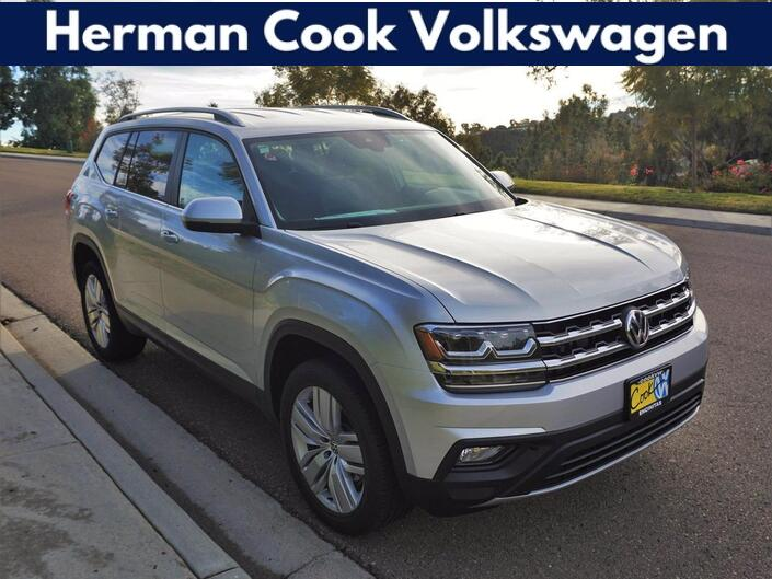 2019 Volkswagen Atlas V6 SE with Technology and 4MOTION® Encinitas CA