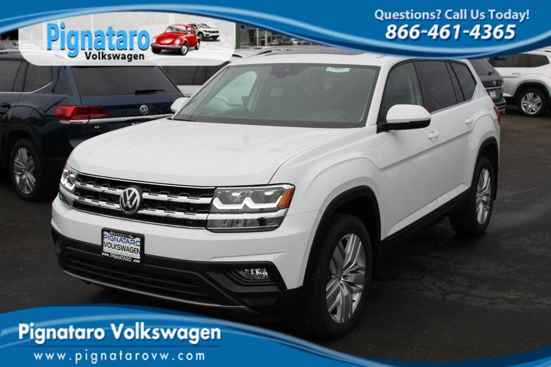 2019 Volkswagen Atlas V6 SE with Technology and 4MOTION® Everett WA