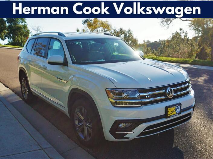 2019 Volkswagen Atlas V6 SE with Technology and 4MOTION® R-Line Encinitas CA