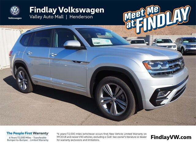 2019 Volkswagen Atlas V6 SE with Technology and 4MOTION® R-Line Henderson NV