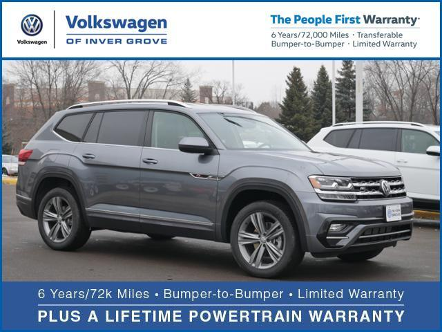 2019 Volkswagen Atlas V6 SE with Technology and 4MOTION® R-Line Inver Grove Heights MN