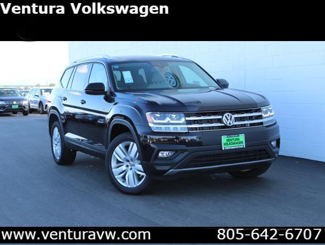 2019 Volkswagen Atlas V6 SE with Technology and 4MOTION® Ventura CA