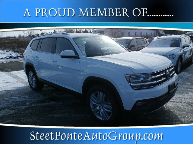 2019 Volkswagen Atlas V6 SE with Technology and 4MOTION® Yorkville NY