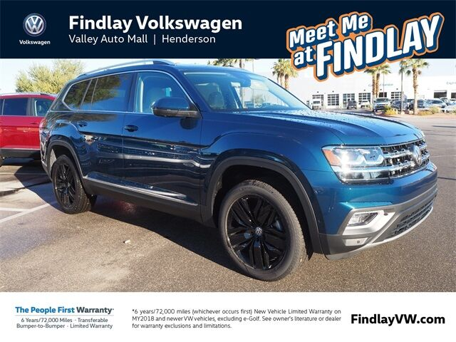 2019 Volkswagen Atlas V6 SEL Premium with 4MOTION® Henderson NV