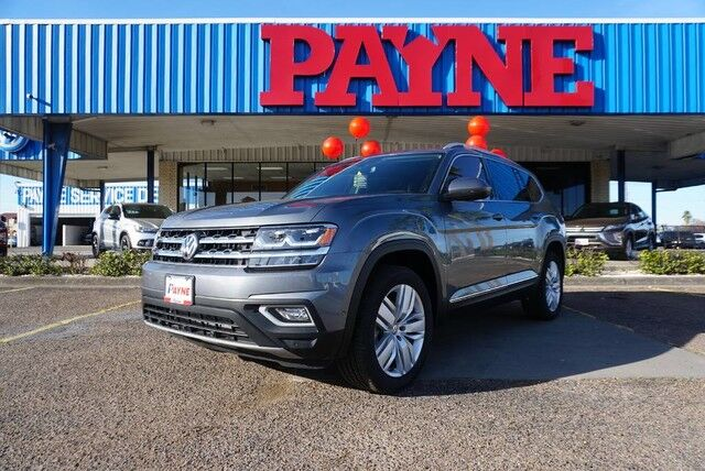 2019 Volkswagen Atlas V6 SEL Premium with 4MOTION® Mission TX