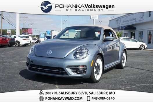 2019_Volkswagen_Beetle Convertible_2.0T Final Edition SEL ** COLLECTOR CAR **_ Salisbury MD