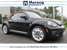 2019_Volkswagen_Beetle Convertible_2.0T Final Edition SEL_ Brunswick ME