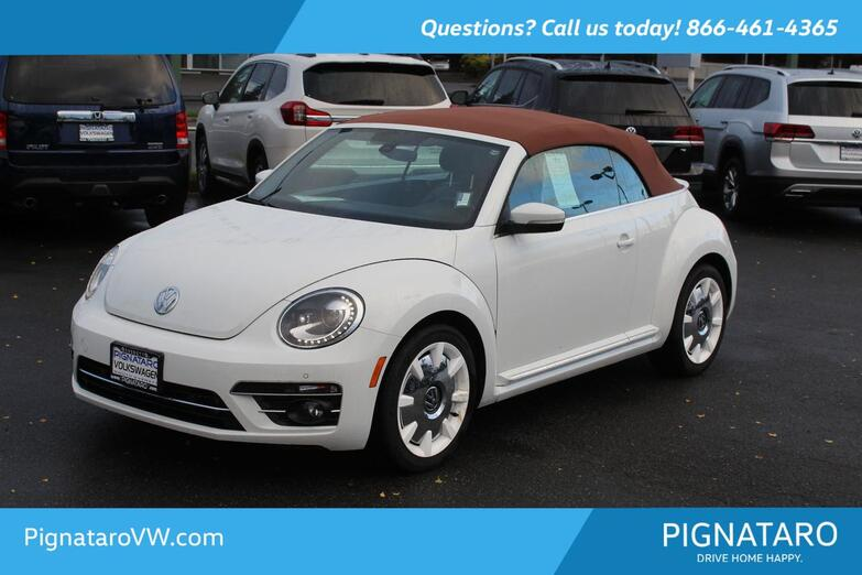2019 Volkswagen Beetle Convertible 2.0T Final Edition SEL Everett WA