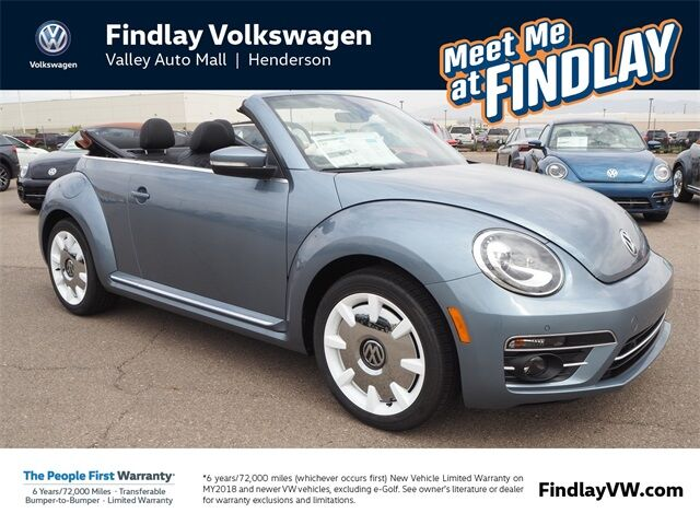 2019 Volkswagen Beetle Convertible 2.0T Final Edition SEL Henderson NV