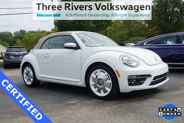 2019 Volkswagen Beetle Convertible 2.0T Final Edition SEL Pittsburgh PA
