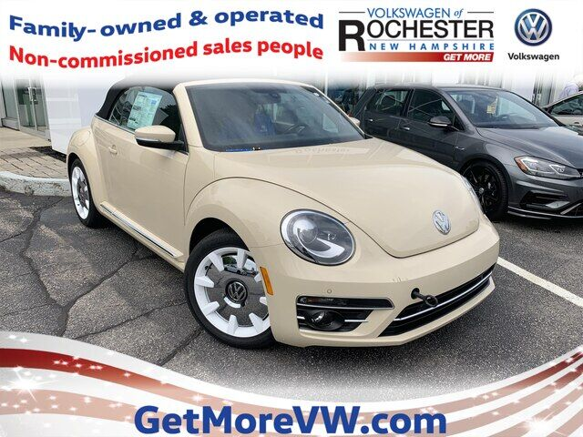 2019 Volkswagen Beetle Convertible 2.0T Final Edition SEL Rochester NH