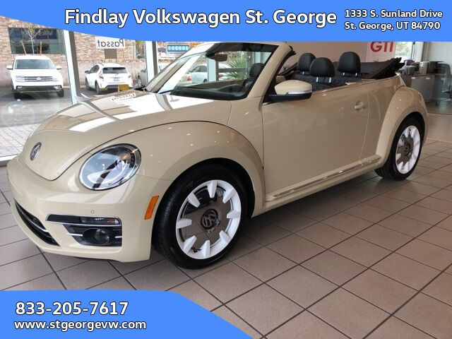 2019 Volkswagen Beetle Convertible 2.0T Final Edition SEL St. George UT