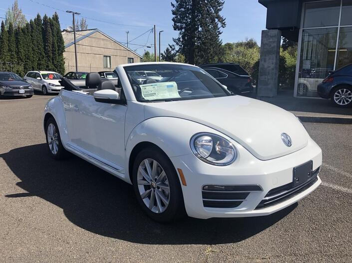 2019 Volkswagen Beetle Convertible SE McMinnville OR