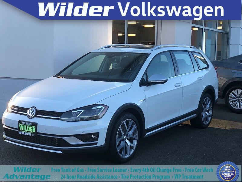 2019 Volkswagen Golf Alltrack 4d Wagon 1.8T SE 4motion Auto Port Angeles WA