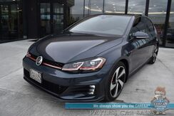 2019_Volkswagen_Golf GTI_Autobahn / Heated Leather Seats / Fender Speakers / Sunroof / Navigation / Adaptive Cruise / Lane Departure & Blind Spot / Bluetooth / Back Up Camera / 31 MPG / Only 4k Miles / 1-Owner_ Anchorage AK