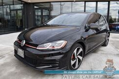 2019_Volkswagen_Golf GTI_SE / SE Experience Pkg / 6-Spd Manual / Heated Leather Seats / Sunroof / Blind Spot Alert / Bluetooth / Back Up Camera / Cruise Control / 32 MPG / 1-Owner_ Anchorage AK