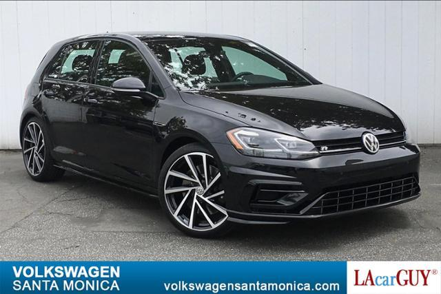 2019_Volkswagen_Golf R_2.0T Manual w/DCC/Nav_ Santa Monica CA