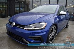 2019_Volkswagen_Golf R_4Motion AWD / Automatic / Heated Leather Seats / Fender Speakers / Navigation / Adaptive Cruise Control / Lane Departure & Blind Spot Alert / Bluetooth / Back Up Camera / 30 MPG / Only 9k Miles / 1-Owner_ Anchorage AK