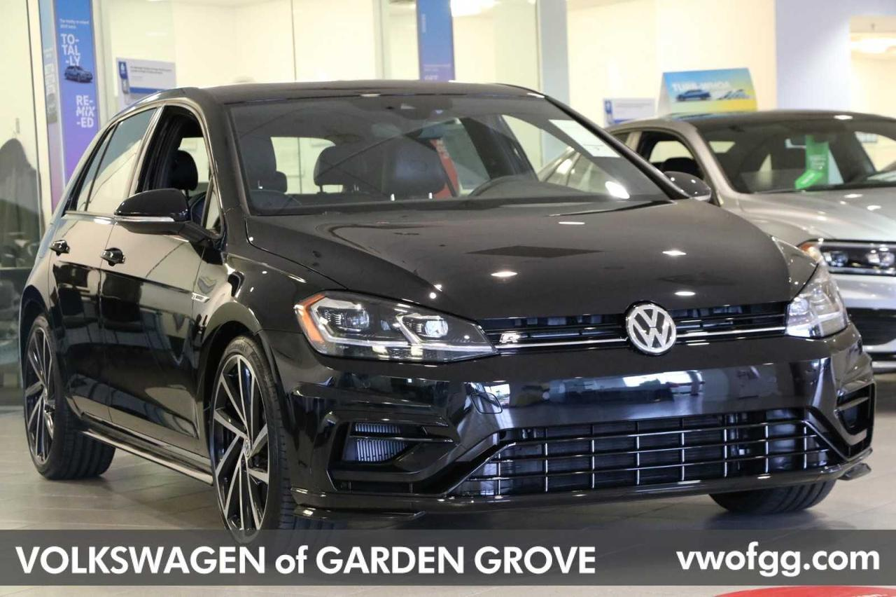 2019 Volkswagen Golf R with DDC and Navigation