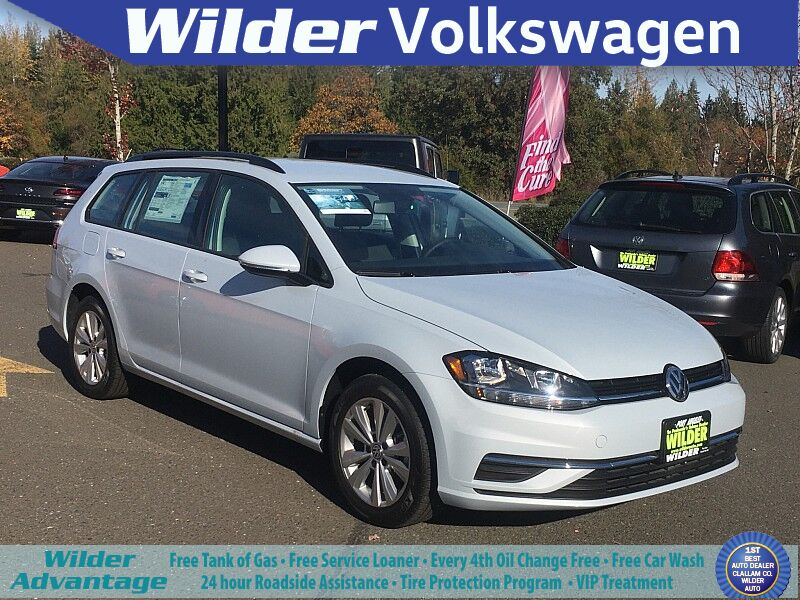 2019 Volkswagen Golf SportWagen 4d Wagon 1.8T S 4motion Auto Port Angeles WA