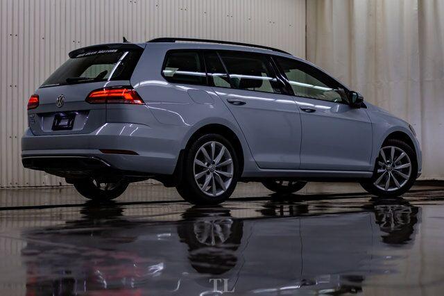 2019 Volkswagen Golf SportWagen Highline Leather Roof BCam Red Deer AB