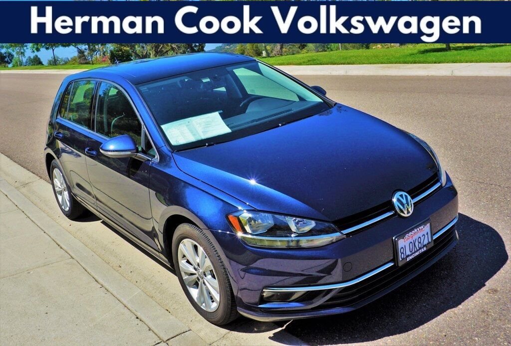 2019 Volkswagen Golf TSI SE 4-Door Encinitas CA